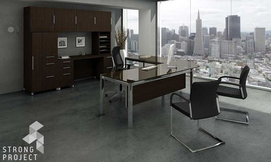 Executive Glass Desks