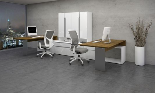 View our Modern Office Desks in our Los Angeles Showroom