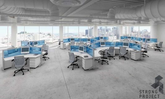 Millennial-Friendly Office Cubicles