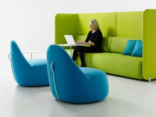 Sound Absorbing Furniture for Open Plan Workspaces