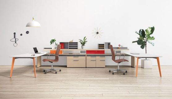 Cool Shared Office Desks