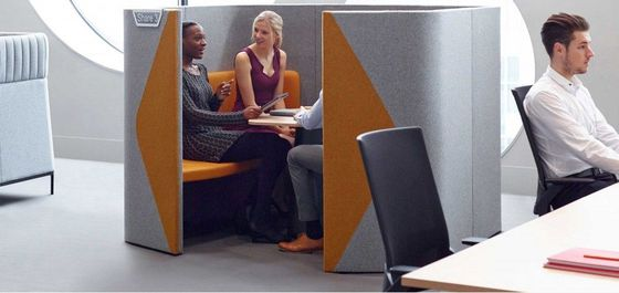 Acoustic Furniture Ideas for Creative Office Space
