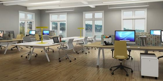 Open Office Benching System