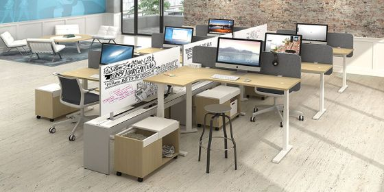 Adjustable Height Office Workstations