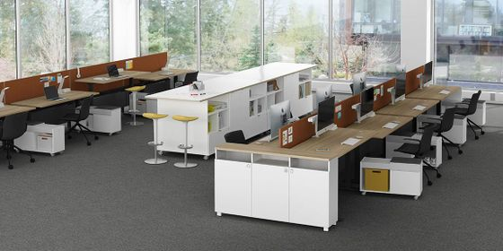 Modern Office Storage Cabinets and Lockers