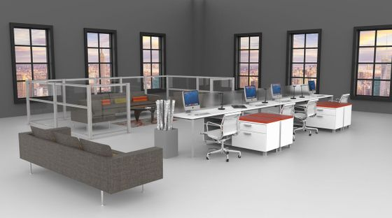 modular office furniture - modern workstations, cool cubicles, sit