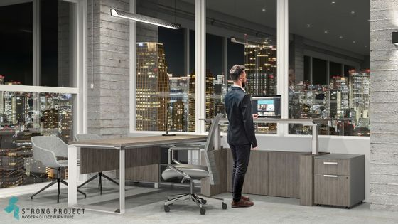 Executive Sit Stand Office Desks