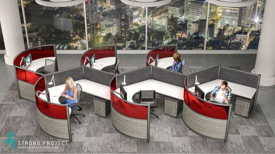 Red Office Furniture