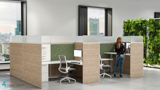 Social Distancing Cubicles