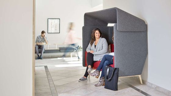 Sound Absorbing Chair