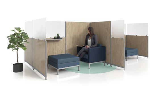 Office Privacy Panels for Employee Safety in the Workplace