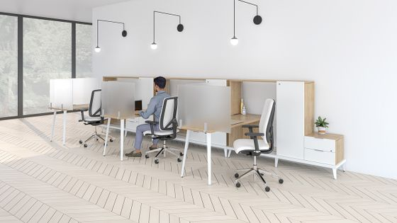 Desk Privacy Screens for Businesses