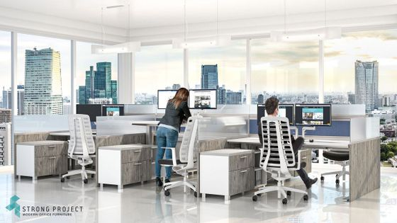 Sit-Stand Cubicles