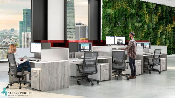 Modern Call Center Workstations