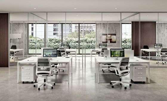 Contemporary Shared Office Desks