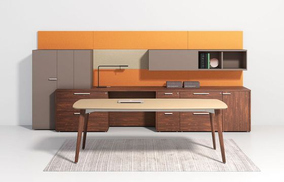 Wood Leg Office Desks