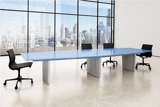 Contemporary Glass Top Conference Tables