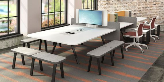 Technology Integration in Collaboration Furniture