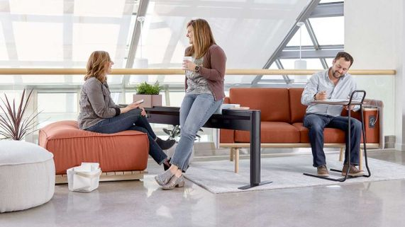 Collaborative Low Profile Lounge Seating
