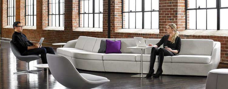 Collaborative Lounge Seating