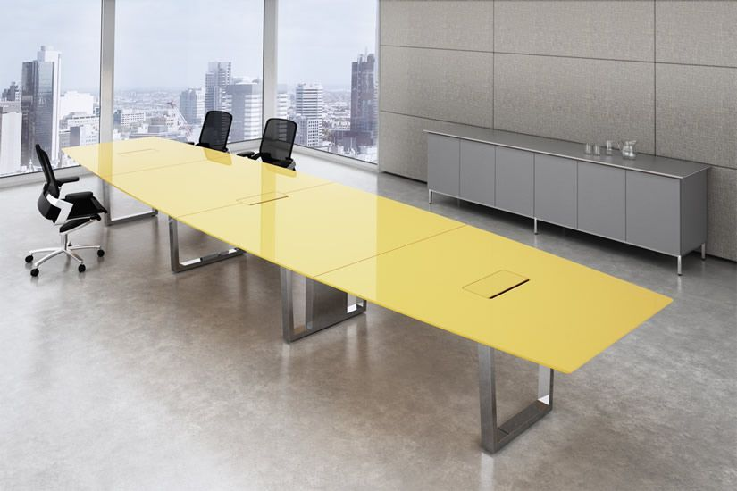 Modern Glass Conference Tables